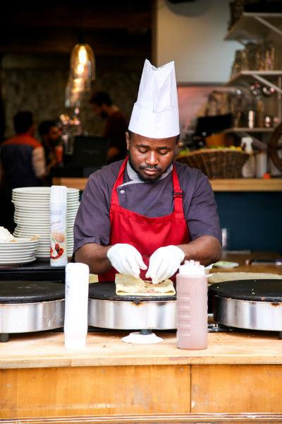 cuisine tablier professionnel