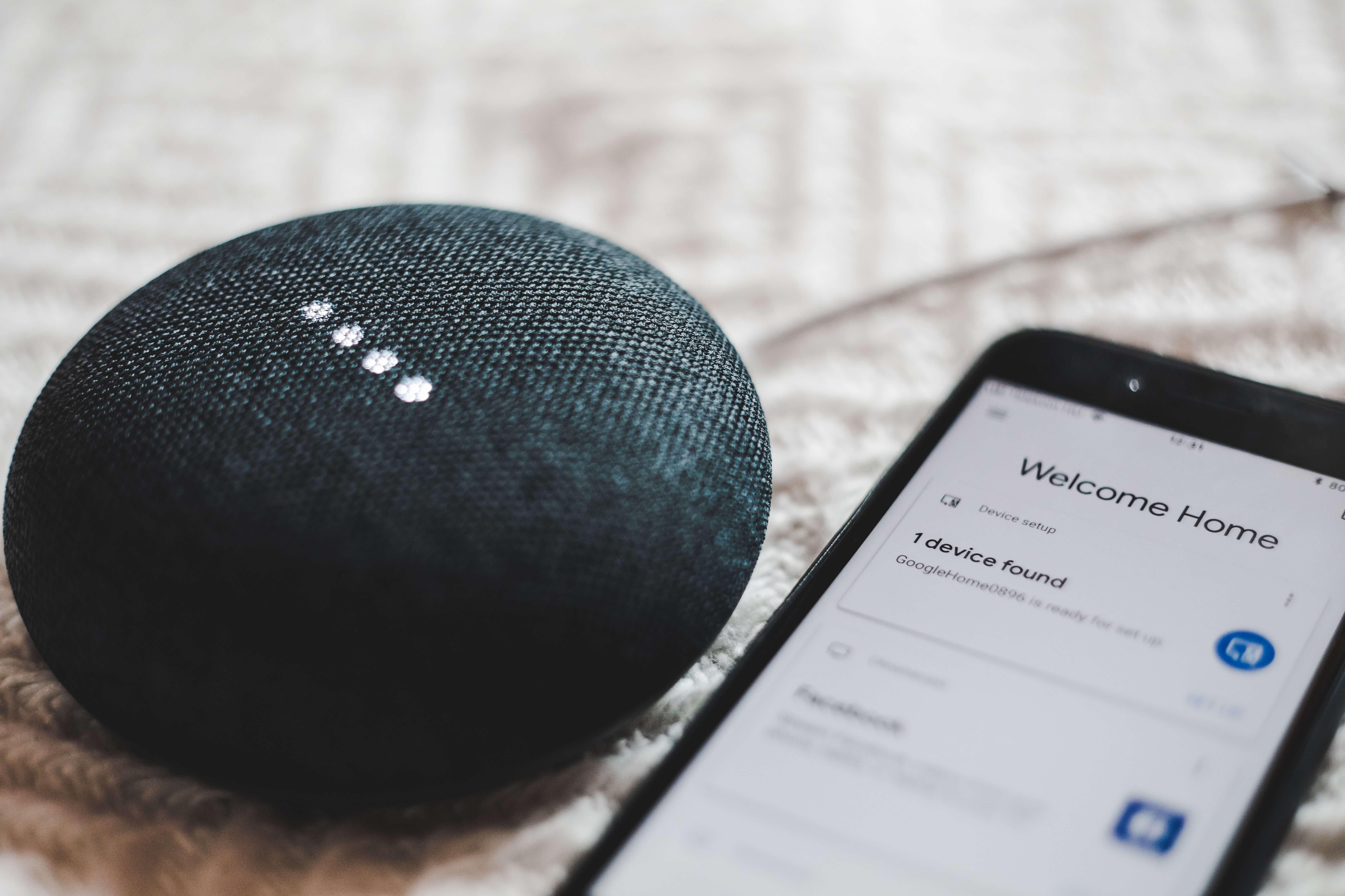 Enceinte Google Nest Audio